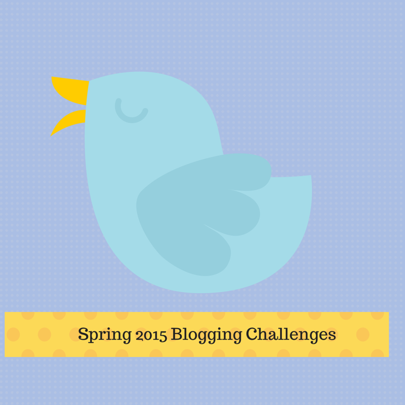 Spring Blogging Challenges